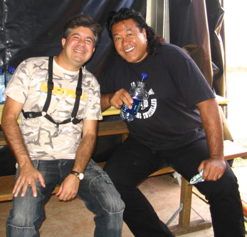 Tournée 2007 Backstage
